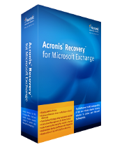 Acronis Recovery MS Exchange