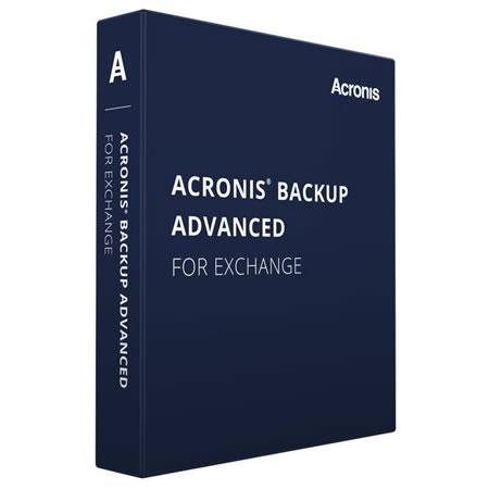 Acronis Backup Microsoft Exchange