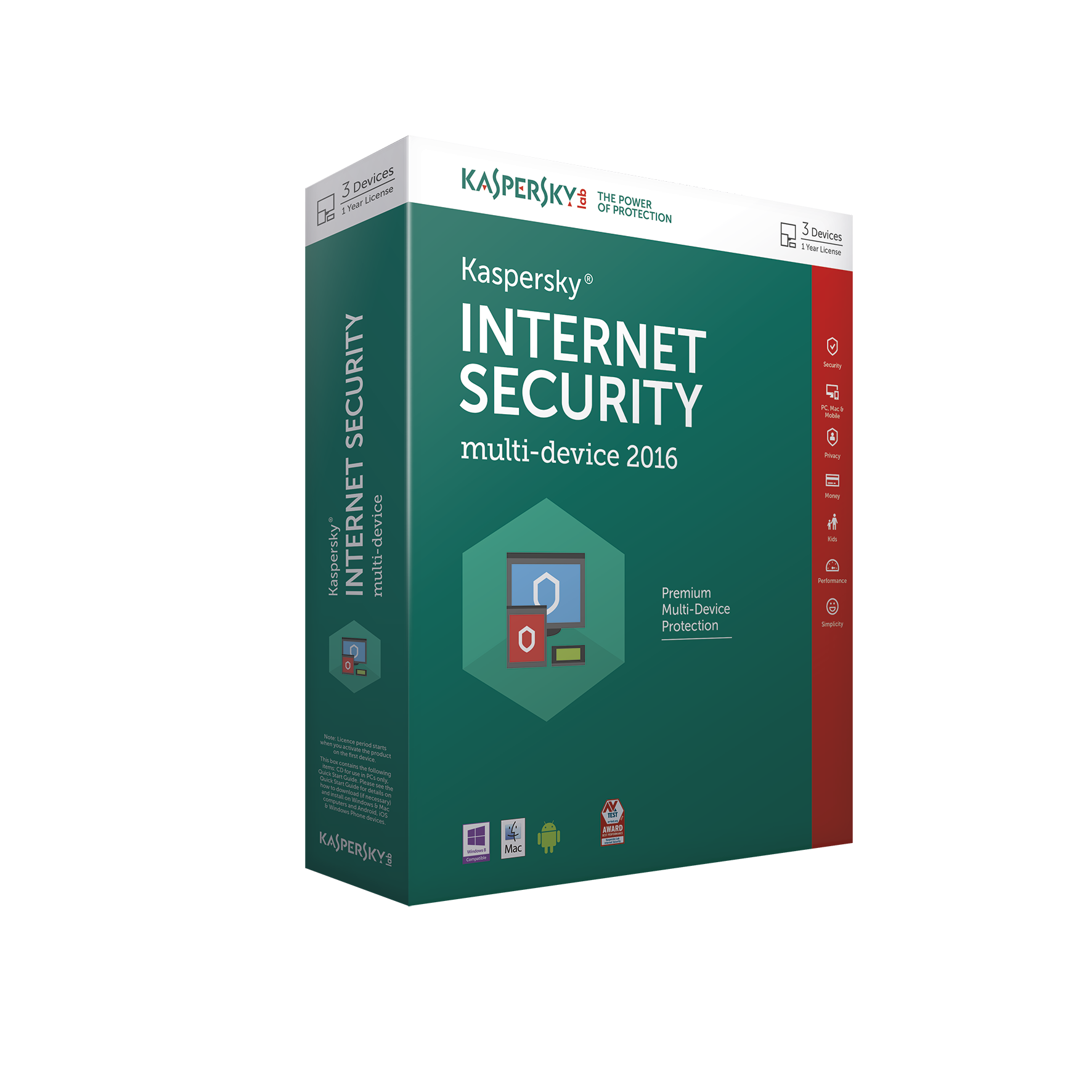 Kaspersky Internet Security 2016 Multi Device